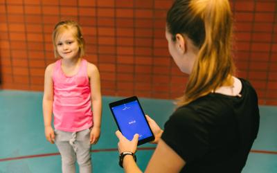Fysiek actieve kinderen zijn sneller op de MQ Scan